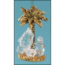 Holy Family with Palm Tree Ornament