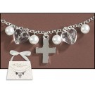 First Communion Necklace in Purse Gift Box