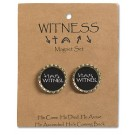 Witness Bottle Cap Magnet Set