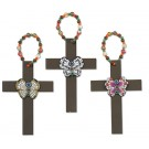 Cross with Butterfly Pendant