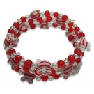 Peppermint Swirl Bracelet