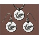 Confirmation Dove Pendant and Earings